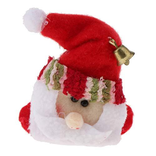 Perfeclan Stoff Glasuntersetzer Tassenuntersetzer Getränkeuntersetzer Tischdeko Weihnachten...