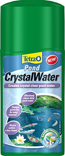Tetra Pond Crystal Water, Effectively Clears Dirty Pond Water, 250 ml