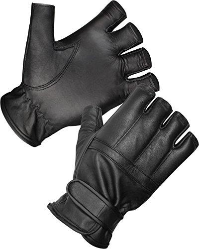 normani Blei Handschuhe ohne Finger aus Rindsleder/Security Sommer Handschuhe S-3XL Größe 2XL