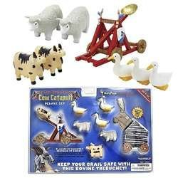 Monty Python Cow Catapult Deluxe Set by Toy Vault