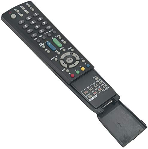 Aquos Lcd (ALLIMITY GA586WJSA Fernbedienung Ersetzt für Sharp LCD AQUOS TV LC-32D653E LC-32D65E LC-32DH66E LC-32DH77E LC-32LE700E LC-32LE705E LC-32LX705E LC-32X20E LC-37D653E LC-37D65E LC-42X20E)