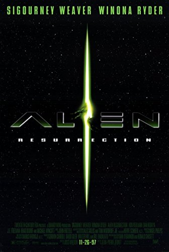 Alien: Resurrection Movie Poster (27,94 x 43,18 cm) (Alien Resurrection Movie Poster)