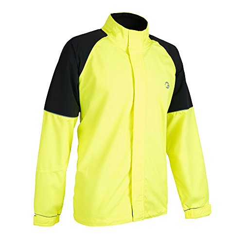 Tenn Mens Vision Jacket - Hi-Viz Yellow/Black - 4XL