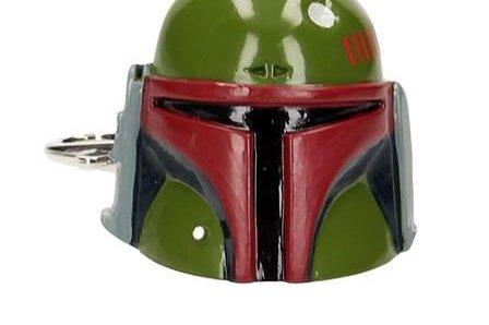 SD toys - Porte Clé Star Wars - Casque Boba Fett 3D 4cm - 8436546896616