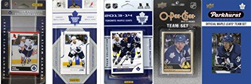 C&I Collectables Herren LEAFS516TS Toronto Maple Leafs 5 Verschiedene lizenzierte Sammelkarten-Team-Sets, Weiß, ohne Größe -