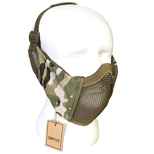 Airsoft halbe Gesichtsmaske taktische Maske