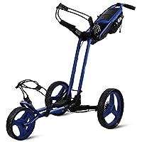 Sun Mountain Explorador 3 Ruedas Flexiones Carrito de Golf Cart Grande Azul de Cielo
