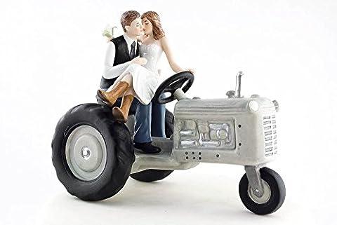Wedding Collectibles - Tracteur Agricole Figurine De Mariage