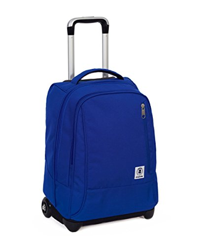 Trolley invicta - tindy- azzurro - 36 lt spallacci a scomparsa! uso zaino scuola e viaggio