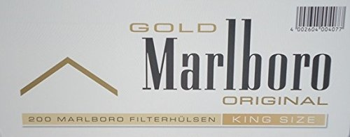 1.000 Marlboro Gold Filterhülsen