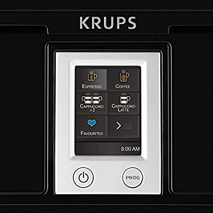 Krups-Kaffeevollautomat-Testsieger-Megapack-2x-1-Kg-Lavazza-Caffe-Crema-Classico-Kaffeebohnen-Kaffee-2x-125ml-durgol-swiss-espresso-Spezial-Entkalker-Kaffeemaschine-mit-Two-in-One-Touch-Funktion