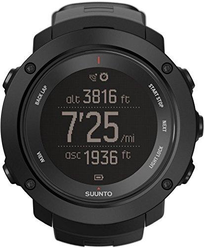 Suunto Ambit3 Vertical Black - Reloj de entrenamiento, color negro