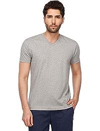 Jockey Men's Solid Regular Fit T-Shirt