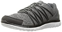 Fila Women s Memory Asymmetric Running Shoe Black/Castlerock/White 9 B(M) US