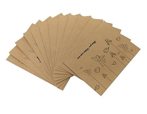 rußkarte Kuvert für Hochzeit, Geburtstag, PARTY Supplies ()