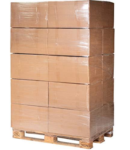 Jumbogras® Großtier- Pferdeeinstreu aus Miscanthus|Elefantengras|Chinagras-Häcksel, Streu statt Stroh, Holz, Sägespäne, Pellets in Box|Stall|Paddock Mist-frei (170 l x 20-STK-Vorratspackungen)