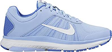 Nike Womens Dart 12 Running Trainers 831535 Sneakers Shoes (US 8. 5, aluminium white black medium blue 403)