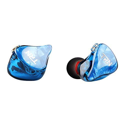 Subwoofer-Headset, Webla, Trn Im2 Earhifi Sechs-Einheiten-Ringeisen-Kopfhörer Telefon-Subwoofer, Kabelgebunden, Ohne Mikrofon, Pc Blau (Bu)