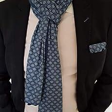 Festliches Herren Einstecktuch mit passendem Schal In Weinrot Paisley Muster