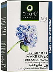 Organic Harvest Pearl - Skin Whitening Facial Kit (Cleansing Milk, Face Scrub, Massage Cream, Face Mask, Sunsc
