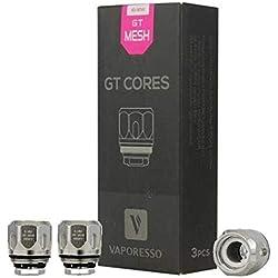 Bobina de repuesto Vaporesso GT Cores MESH 0.18 ohm (paquete de 3) - Este producto no contiene nicotina ni tabaco