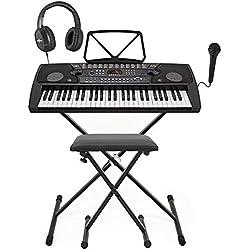 Pack Complet avec Clavier Portable MK-2000 a 54 touches par Gear4music
