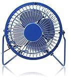 eGadget Metal Retro Desk Fan for PC , Laptop , Netbook, Apple Macbook , iMac (BLUE)