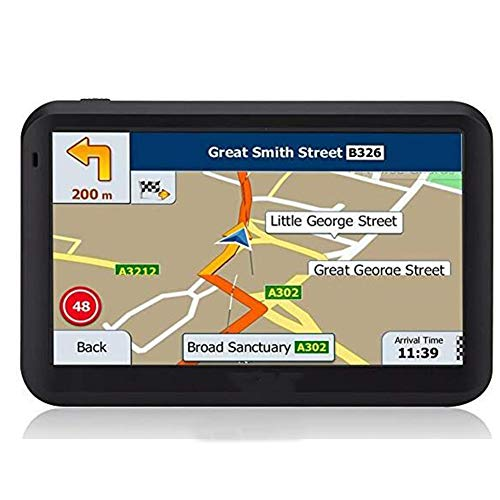"DishyKooker 5"" HD Onboard GPS Portable Navigator 256MB + 8GB ( Southeast Asia map )"
