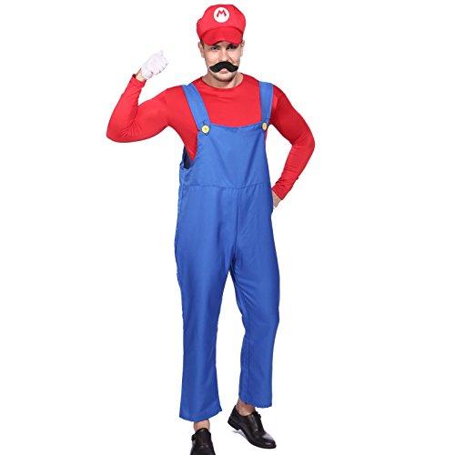 Imagen de cle de tous  disfraz de mario bros para adulto hombre cosplay dress fiesta carnaval halloween talla xl