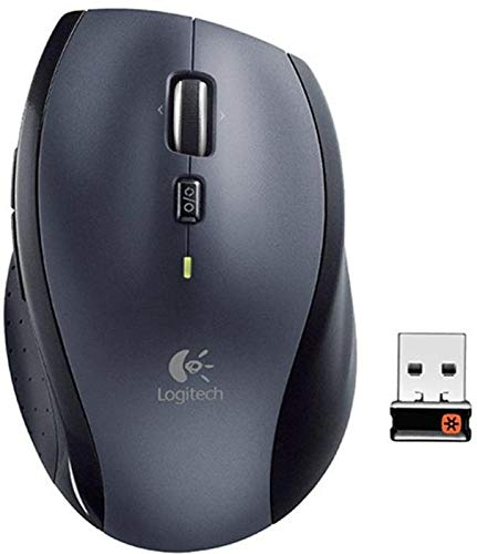 Logitech Marathon M705 - kabellose Maus (für Notebook/Computer mit 3 Jahren Batterielebensdauer) einfarbig 5er Pack