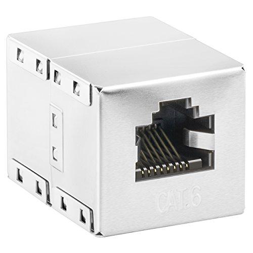 mumbi CAT.6 Ethernet Modular Kupplung / RJ45 Netzwerkkabel Buchse / Adapter für CAT6 Kabel