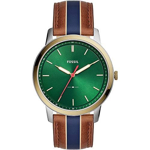 Reloj Fossil FS5550 Blue Acero 316 L Hombre
