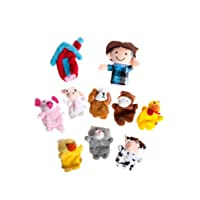 Story Telling Sack Bag Finger Puppets Nursery Rhyme Fairy Tale Aussie Toys Children Gift Present