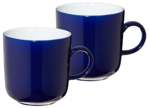 Kahla 47A180A70307C Pronto | Kaffeebecher-Set 2-teilig | Porzellan Geschirr Becher rund mit Henkel...