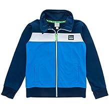864282868140 Bench BKBE002096 TRACK TOP coole, sportliche Zip Jacke aus Trikot-Material,  Daumenlöcher im Bündchen