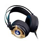 Gaming-Headset Für PS4-PC, Surround-Sound-Over-Ear-Kopfhörer Mit Geräuschkulisse MIC, LED-Leuchten, USB, Surround-Sou