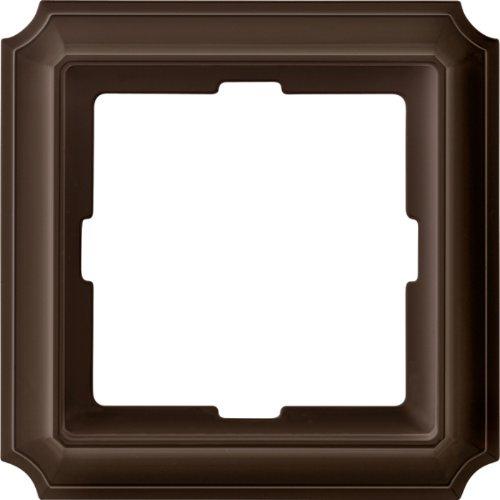 Merten 483115 ANTIK-Rahmen, 1fach, dunkelbrasil