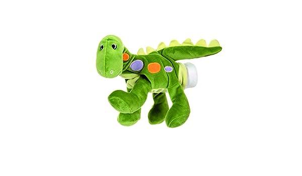 Egmont Toys Handpuppe Dinosaurier Gr/ün E160670