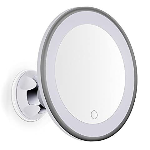 Miroir Grossissant 8 Fois - Bornku Miroir Grossissant Lumineux x7 LED B60