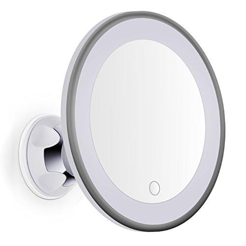 Bornku Specchio Da Trucco LED...