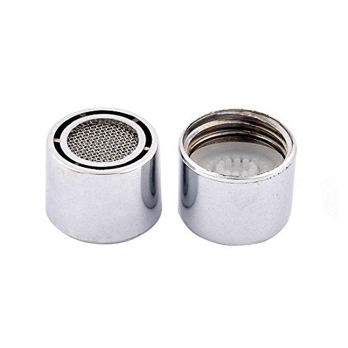 Sourcingmap® risparmio acqua rubinetto filtraggio net aeratore ugello 2PCS tono