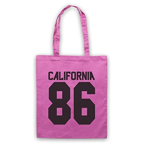 Inspiriert durch California 86 As Worn By Damon Albarn Inoffiziell Umhangetaschen Rosa