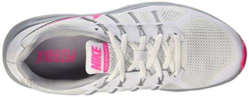 Nike Wmns Air Max Dynasty, Scarpe da Corsa Donna Multicolore (White/Pink Blast-Wolf Grey)