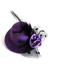 BoBoLily Gorros Gorros Accesorios De Vestuario para Cilindro De Mujeres  Fiesta Cosplay Especial Estilo De Halloween c9ef73c1522