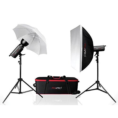 PIXAPRO Studio KINO800 1600Ws Strobe Flash Twin-Set (80 (DE) 00 8/0) Fashion Bauty Nude Foto Schuss Baby Portrait Schule Nude-Capture ✔ FastDelivery ✔ Tr ademark ✔ UK 2YearWarranty ✔ -