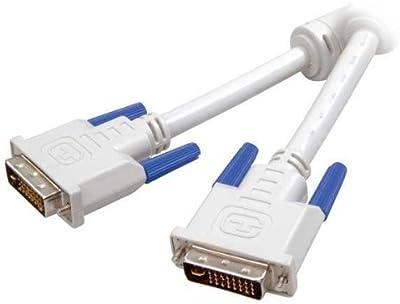 Vivanco DVI-D dual-link connection lead, 1.8 m - cables DVI (1.8 m, 1,8m, DVI-D, DVI-D) Color blanco