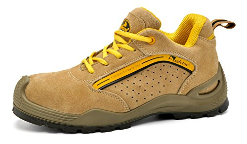 Safetoe Summer Safety Shoes Footwear Hiker Boots With Steel Toe (10)