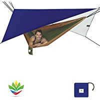 Hammock Bliss All Purpose Waterproof Shelter - Waterproof Tent Tarp, Rain Fly and Hammock Shelter To Cover Your Hammock & Your Gear