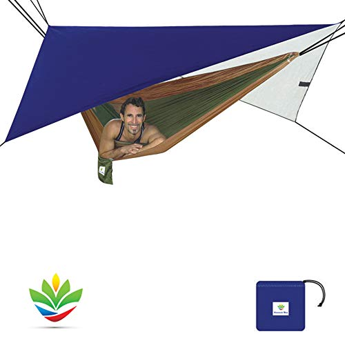 Hammock Bliss All Purpose Waterproof Shelter - Waterproof Tent Tarp, Rain Fly and Hammock Shelter to Cover Your Hammock & Your Gear - Eno Net Hängematte