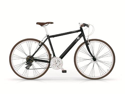 Bicicletta uomo Hybrid ibrido 28 Life nera alluminio MBM